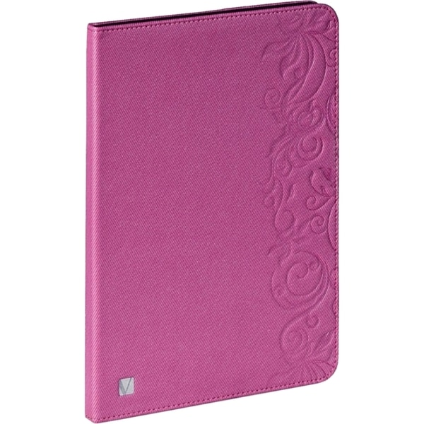 Verbatim Folio Expressions Case for iPad mini (1,2,3) - Floral Pink