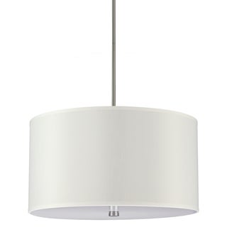 Sea Gull Lighting Dayna 4-light Brushed Nickel Shade Pendant