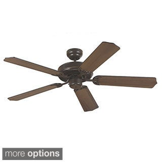Sea Gull Lighting Quality Max Ceiling Fan with Cerused Oak/ Ebony Blades