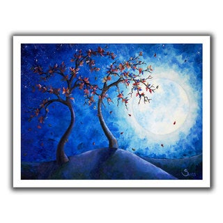 ArtWall Shiela Gosselin 'Into the Light' Unwrapped Canvas