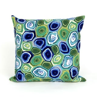 Geo Indoor/Outdoor 20 inch Throw Pillow