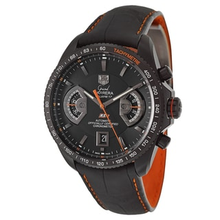 Tag Heuer Men's 'Grand Carrera' Titanium Chronograph Tachymeter Watch