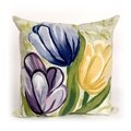 Spring Flower Indoor/Outdoor 20 inch Throw Pillow