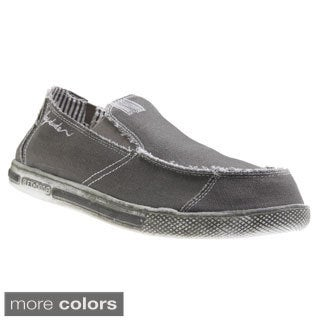 Hey Dude Shoes Men's 'Gus' Canvas Slip-on Shoes