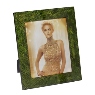 8x10 Emerald Green Mosaic Photo Frame