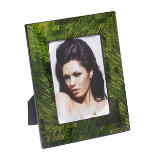 5x7 Emerald Green Mosaic Photo Frame