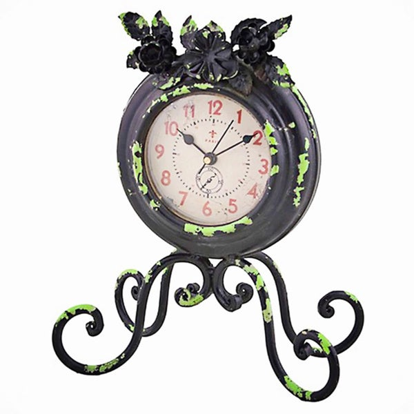 Black 'Old Paris' Carriage Clock