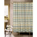 Attingham Park Plaid Cotton Shower Curtain
