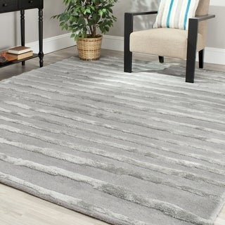 Safavieh Handmade Soho Grey Wool Rug (8' x 10')