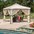 Christopher Knight Home Skyline Beige Gazebo