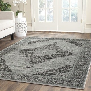 Safavieh Vintage Light Blue/ Multi Viscose Rug (11' x 15')