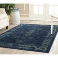 Safavieh Antiqued Vintage Soft Anthracite Viscose Rug (10' x 14')