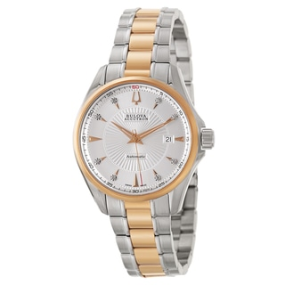 Bulova Accutron Men's 'Brussels' Stainless Steel Swiss Mechanical Automatic Watch