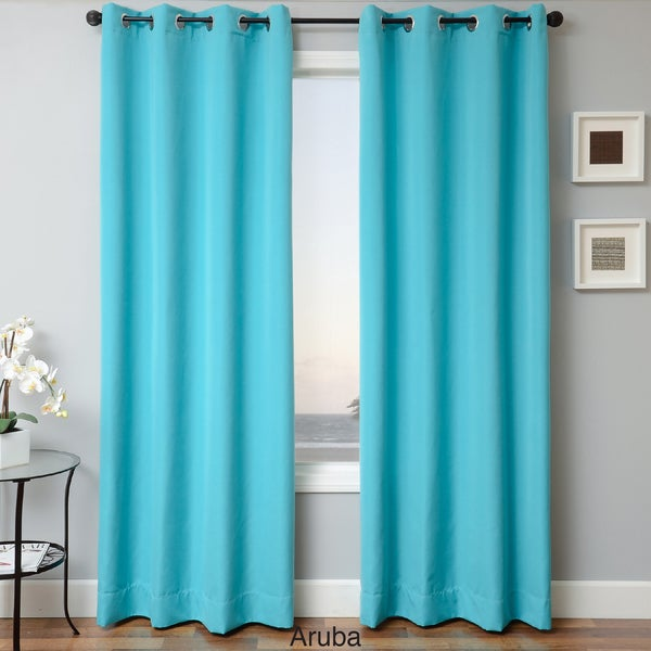 Canvas outdoor curtains