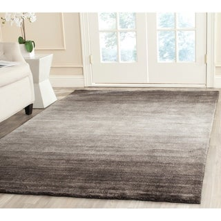 Safavieh Hand-woven Mirage Black Viscose Rug (9' x 12')