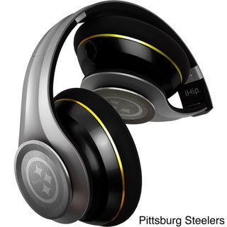 iHip NFL Team Elite Style In-line Microphone Headphones