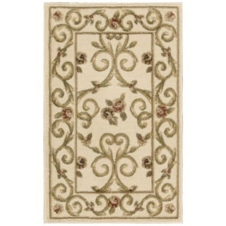 Nourison Somerset Ivory/ Brown Area Rug (3'6 x 5'6)