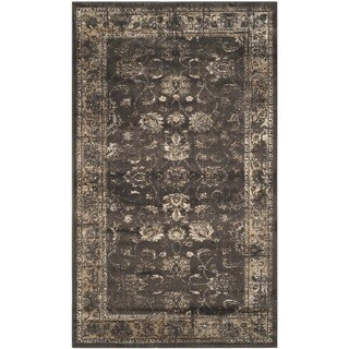 Safavieh Vintage Soft Anthracite Viscose Rug (2' x 3')