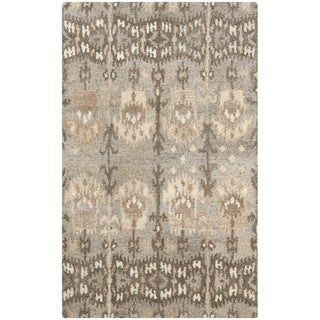 Safavieh Handmade Wyndham Natural/ Multi Wool Rug (3' x 5')