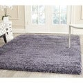 Safavieh New York Shag Purple/ Purple Rug (8' x 10')