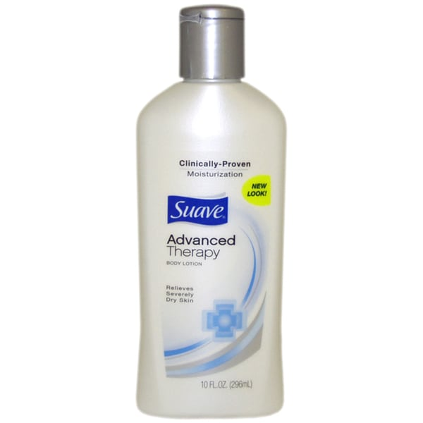 Suave Advanced Therapy 10-ounce Body Lotion