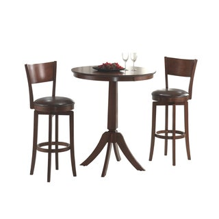 Archer 3-piece Dark Brown Bistro Set
