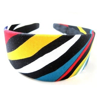 Crawford Corner Shop Rainbow Zebra Headband