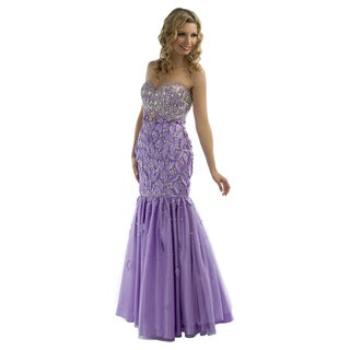 Daniella Couture Lavender Puff Dress
