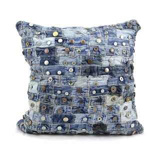 Mina Victory by Nourison Denim 20 x 20-inch Throw Pillow