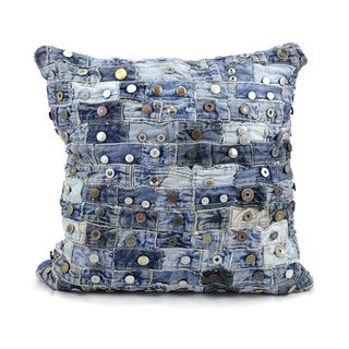 Nourison Mina Victory Denim 20-inch Throw Pillow