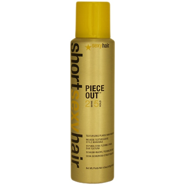 Short Sexy Hair Piece Out Wax 4.8-ounce Mousse