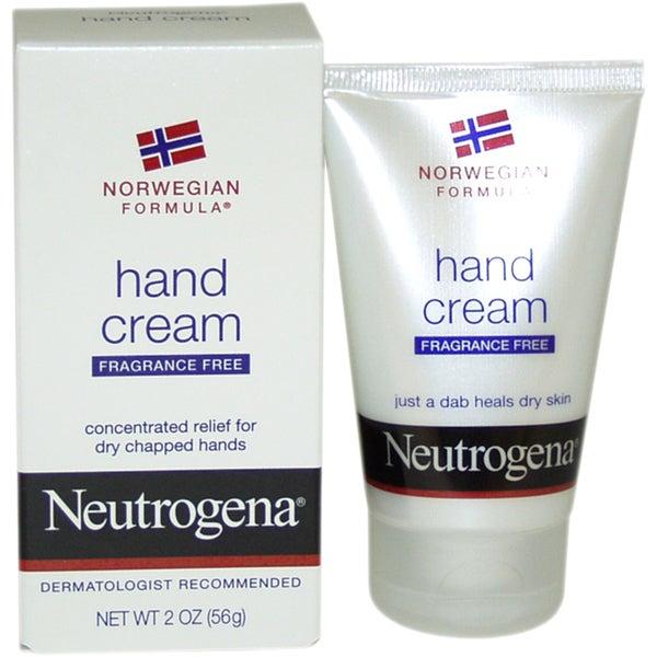 Neutrogena Fragrance-Free 2-ounce Hand Cream