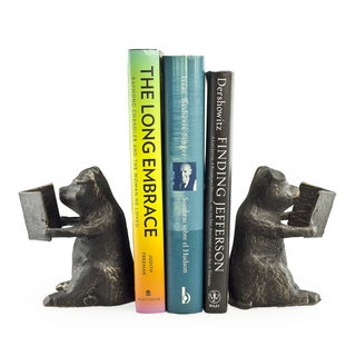Pigs Iron Bookend Set