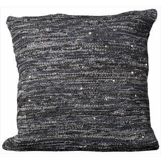 Mina Victory Denim 20 x 20 Throw Pillow