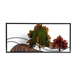 Elements Tree Scene Metal Wall Decor