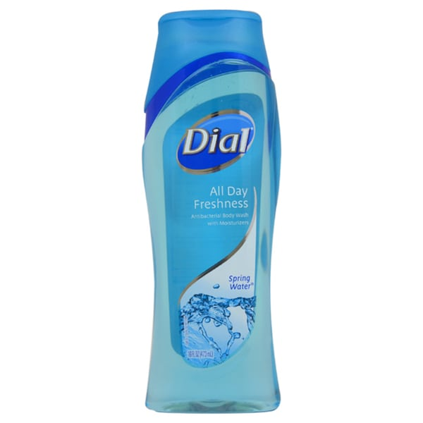 Dial Clean and Refresh Antibacterial Spring Water 18-ounce Body Wash