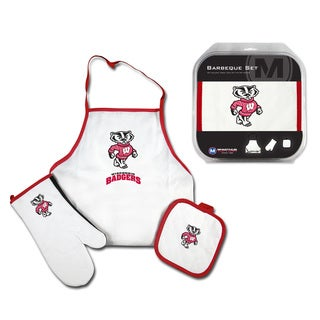 Wisconsin Badgers 3-Piece Tailgate Set