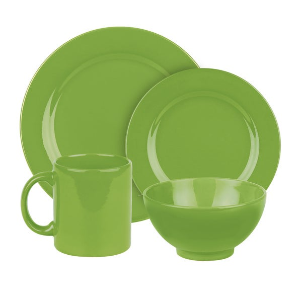 Waechtersbach Fun Factory Green Apple 4-piece Place Setting 12629025