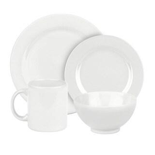 Waechtersbach Fun Factory White 16-piece Dinnerware Set