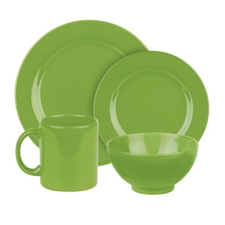 Waechtersbach Fun Factory Green Apple 16-Piece Dinnerware Set