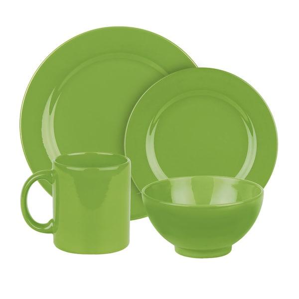 Waechtersbach Fun Factory Green Apple 16-Piece Dinnerware Set 12629052