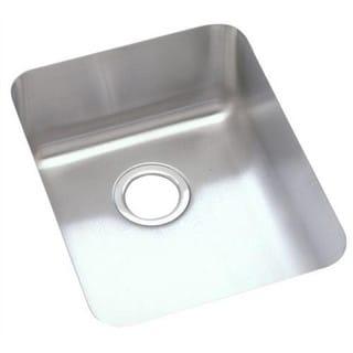 Elkay Gourmet Lustertone Stainless Steel Undermount Sink