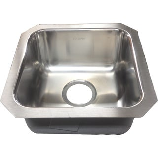 Elkay Gourmet Stainless Steel Single Bowl Undermount Sink