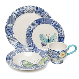 Fitz and Floyd Courtyard 16-piece Dinnerware Set