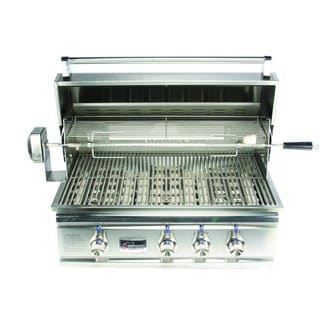 Summerset Stainless Steel 32-inch Built-in Gas Grill w/ Rotisserie