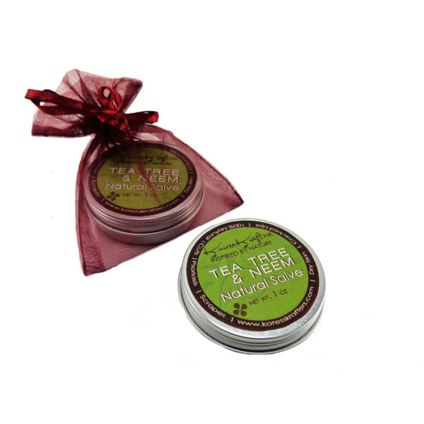 Natural Healing Tea Tree and Neem Salve