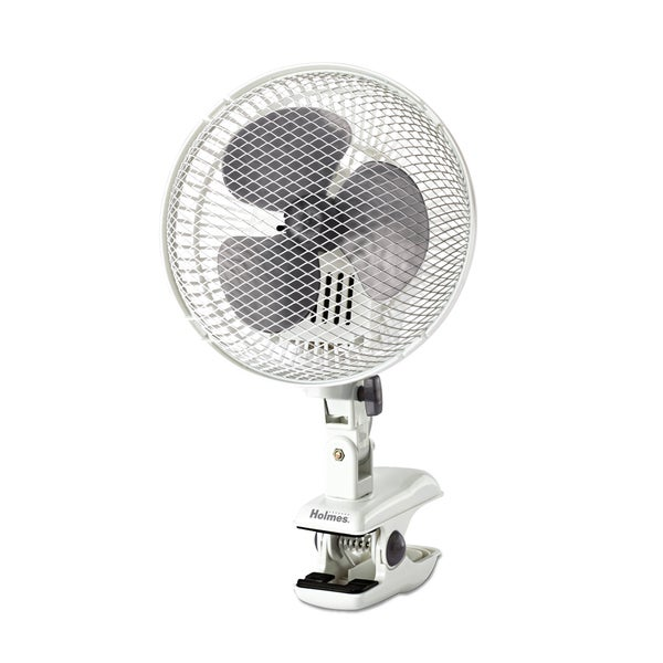 Holmes 2 Speed Oscillating Clip-on Fan