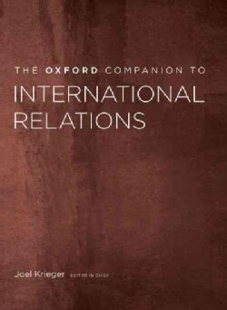 The Oxford Companion to International Relations (Hardcover)