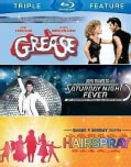 Grease/Saturday Night Fever/Hairspray (Blu-ray Disc)