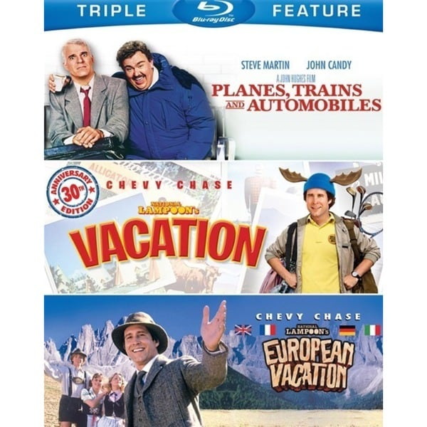 Planes/National Lampoon's Vacation/National Lampoon's European Vacation (Blu-ray Disc) 12630401